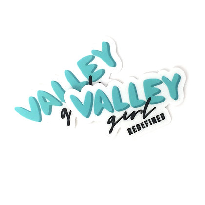 Valley Girl Redefined Stickers