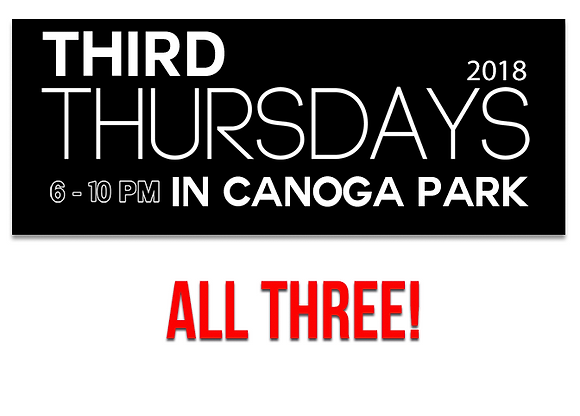 Canoga Park Vendor Booth - All Three Months
