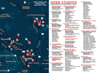 Tour packet- locations and map