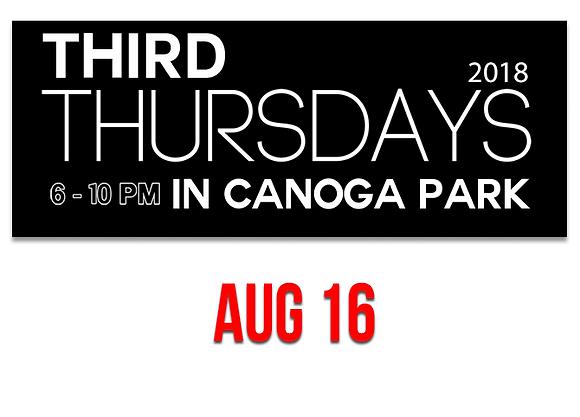 Canoga Park Vendor Booth 8/16