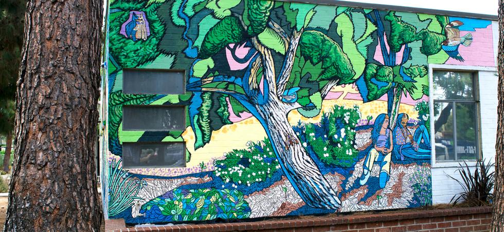 reseda-library-mural