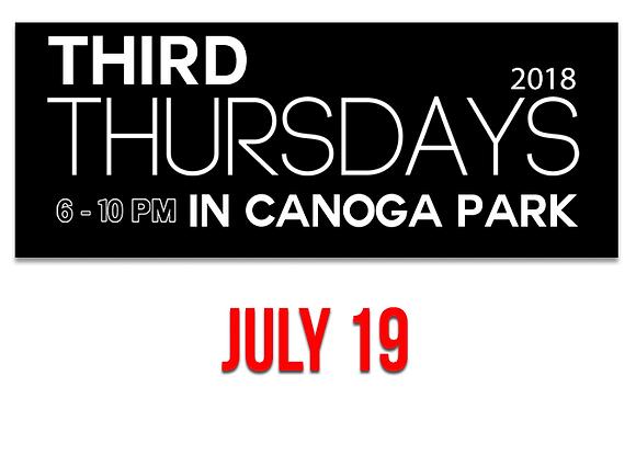 Canoga Park Vendor Booth 7/19