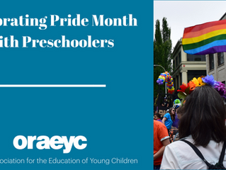 Celebrating Pride Month with Preschoolers
