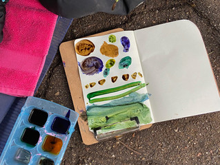 Sustainable Preschool Classroom Art for Earth Day and Beyond