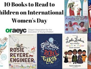 10 Books to Read to Children on International Women's Day