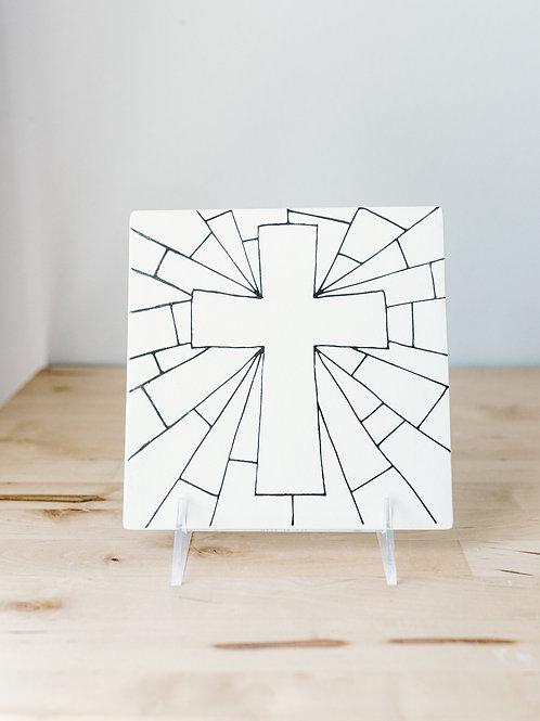Cross Party Tile