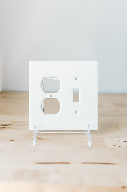 Single Switch Plate & Outlet cover