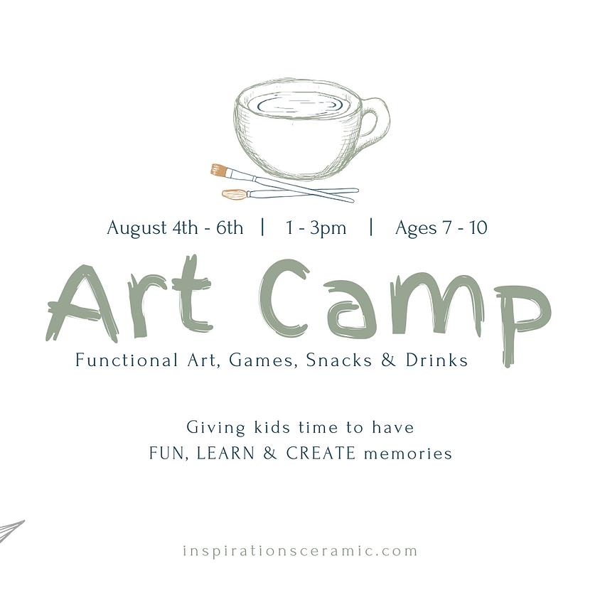summer art camp | ages 7 - 10