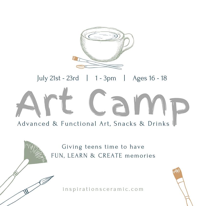 summer art camp   ages 16 - 18