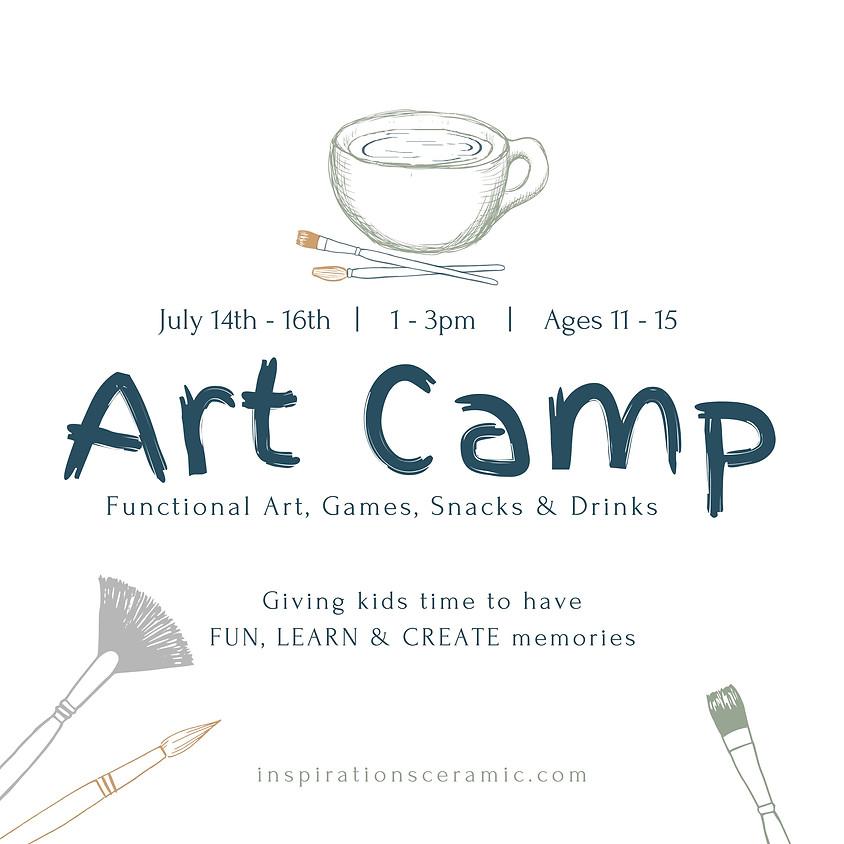 summer art camp | ages 11 - 15