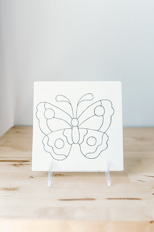 Butterfly Party Tile