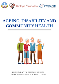 Ageing, Disability & Community Health Re