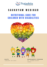 Nutritional care for  Children With Disa