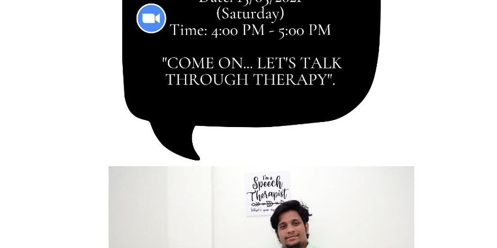 Webinar On Speech Therapy