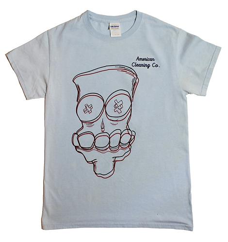 X'd Out T-Shirt (Blue)