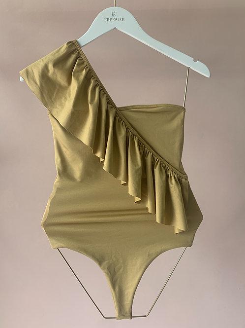 Body Babado - Dourado