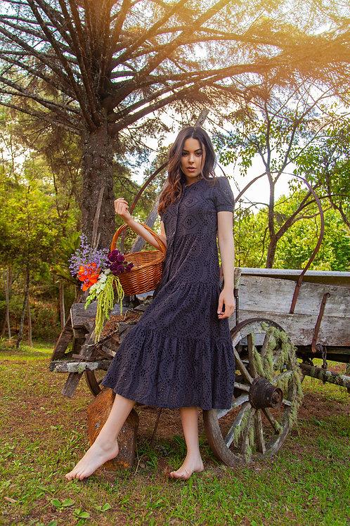 Vestido Lese - Preto