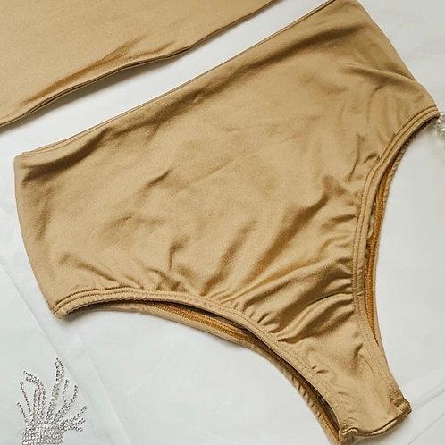 Hot Pant - Dourado