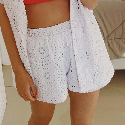 Shorts Lese - Branco