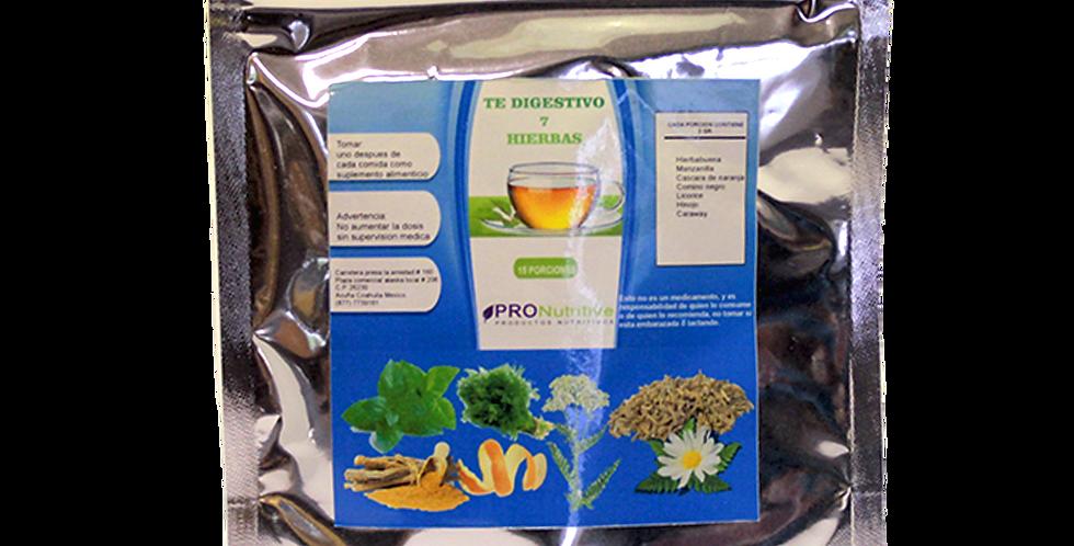 Té digestivo 7 hierbas