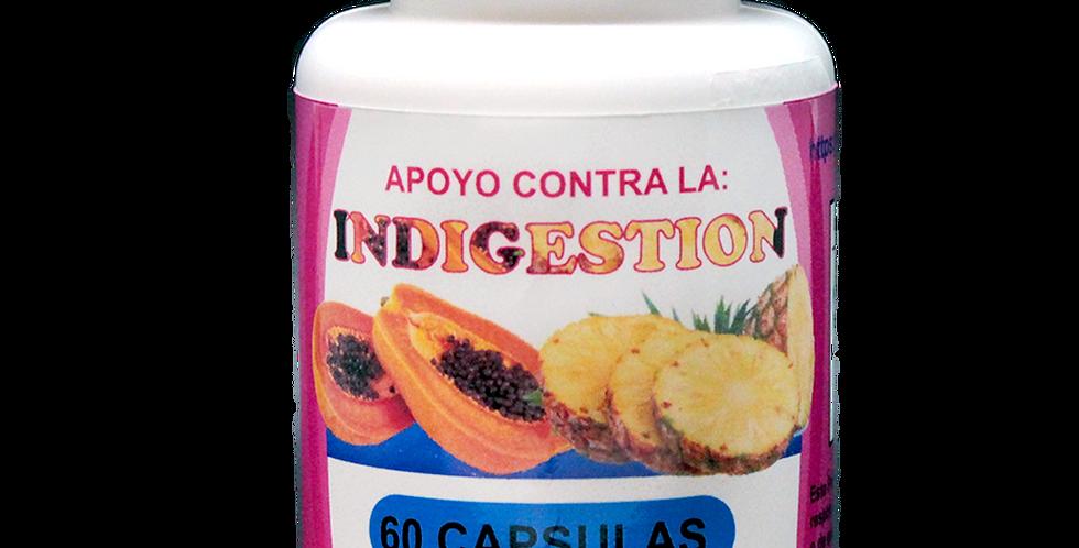 Apoyo contra la indigestión