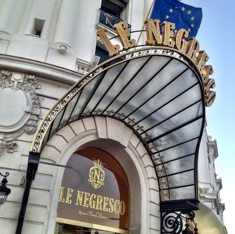 Le Negresco on INSTAGRAM