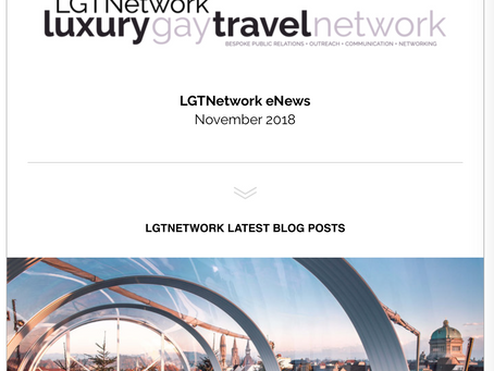 LGTNetwork Monthly Newsletter is now online - November 2018