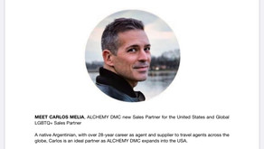 CARLOS MELIA JOINS ALCHEMY DMC ARGENTINA & CHILE AS GLOBAL LGBTQ+ SALES PARTNER