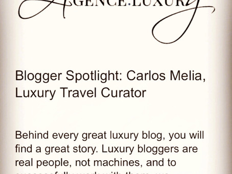 LuxeInACity features LGTNetwork and puts Carlos Melia on the spotlight
