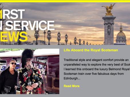 Life Aboard Belmond Royal Scotsman