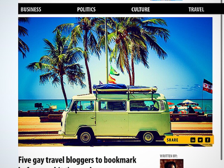 Five gay travel bloggers to bookmark before you hit the road