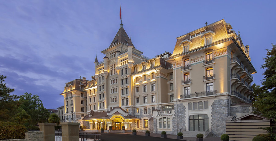 Royal Savoy Lausanne.