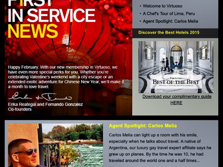 First in Service Agent Spotlight: Carlos Melia & LGTNetwork