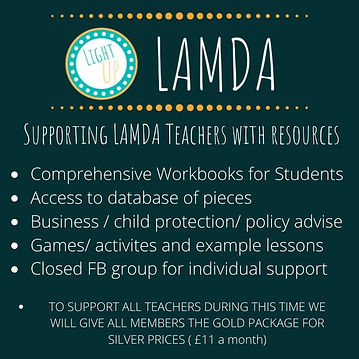 Supporting LAMDA Teachers with resources