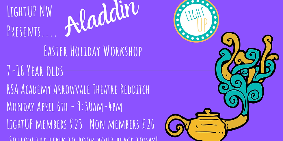 NW - Aladdin Easter Workshop