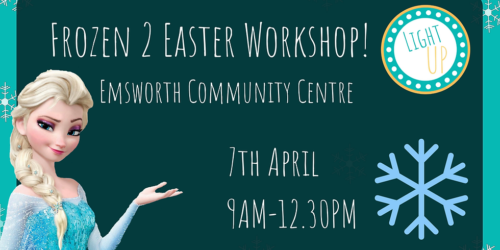 Dibden Purlieu - Frozen 2 Easter Workshop