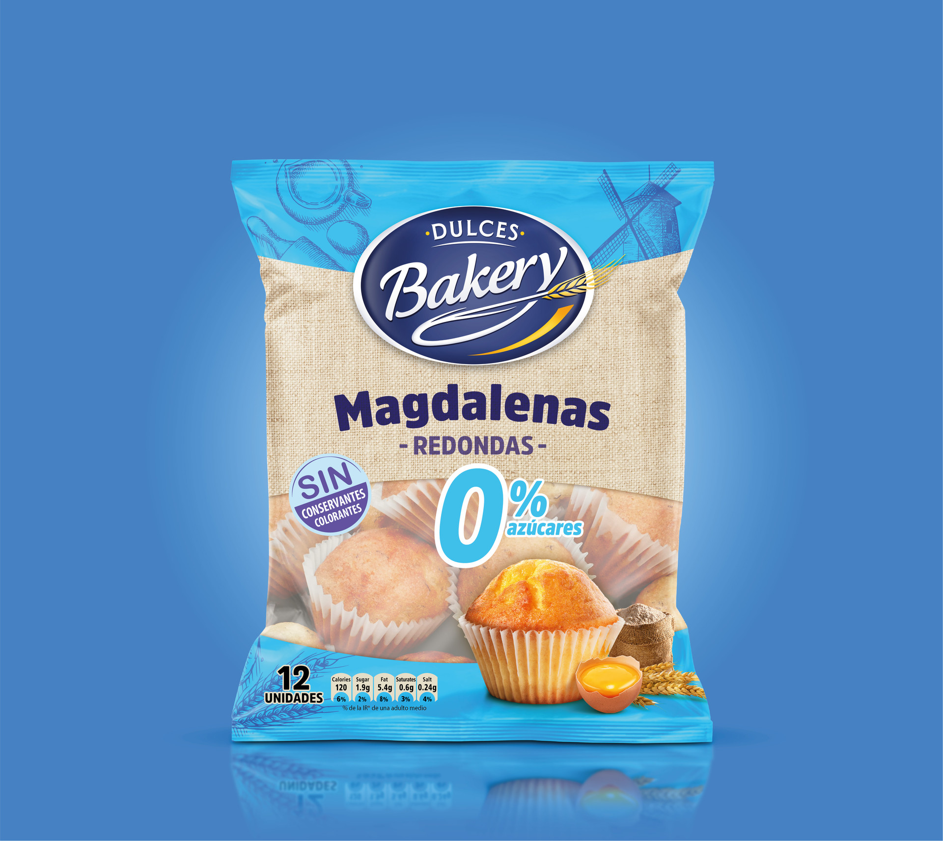 Magdalenas DULCES BAKERY 0%