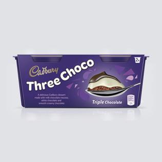 Cadbury Three Choco