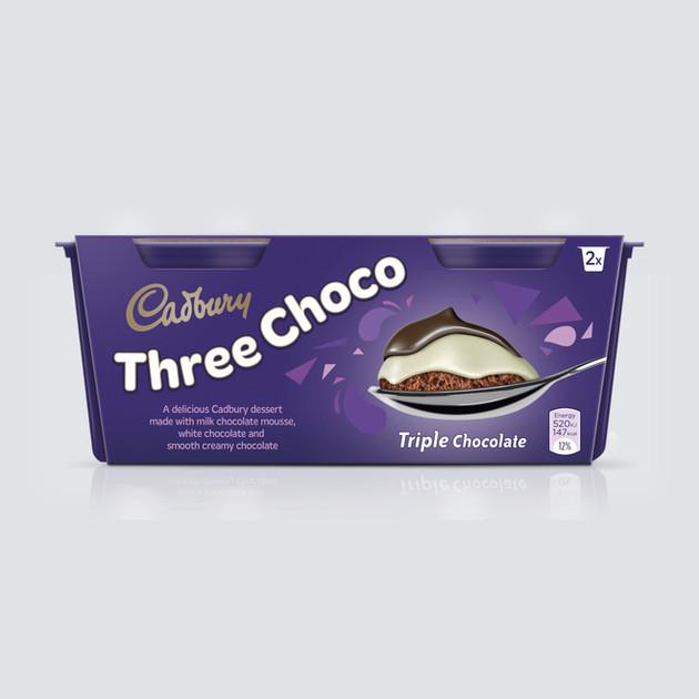 • Cadbury 3 Choco