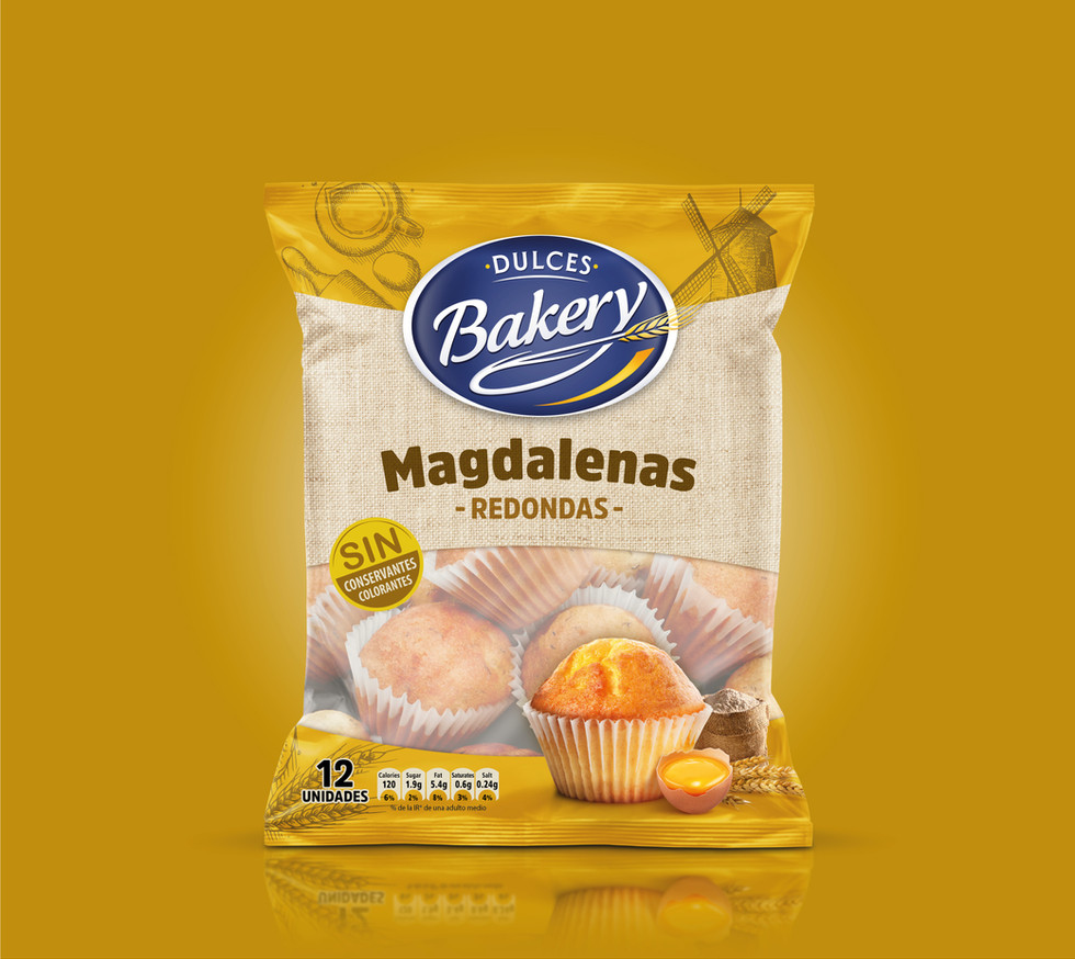 Magdalenas DULCES_BAKERY