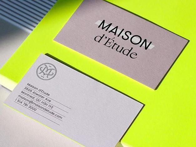 MAISON D'ÉTUDE