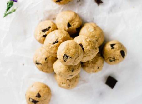 Brain Boosting Cookie Dough Bites