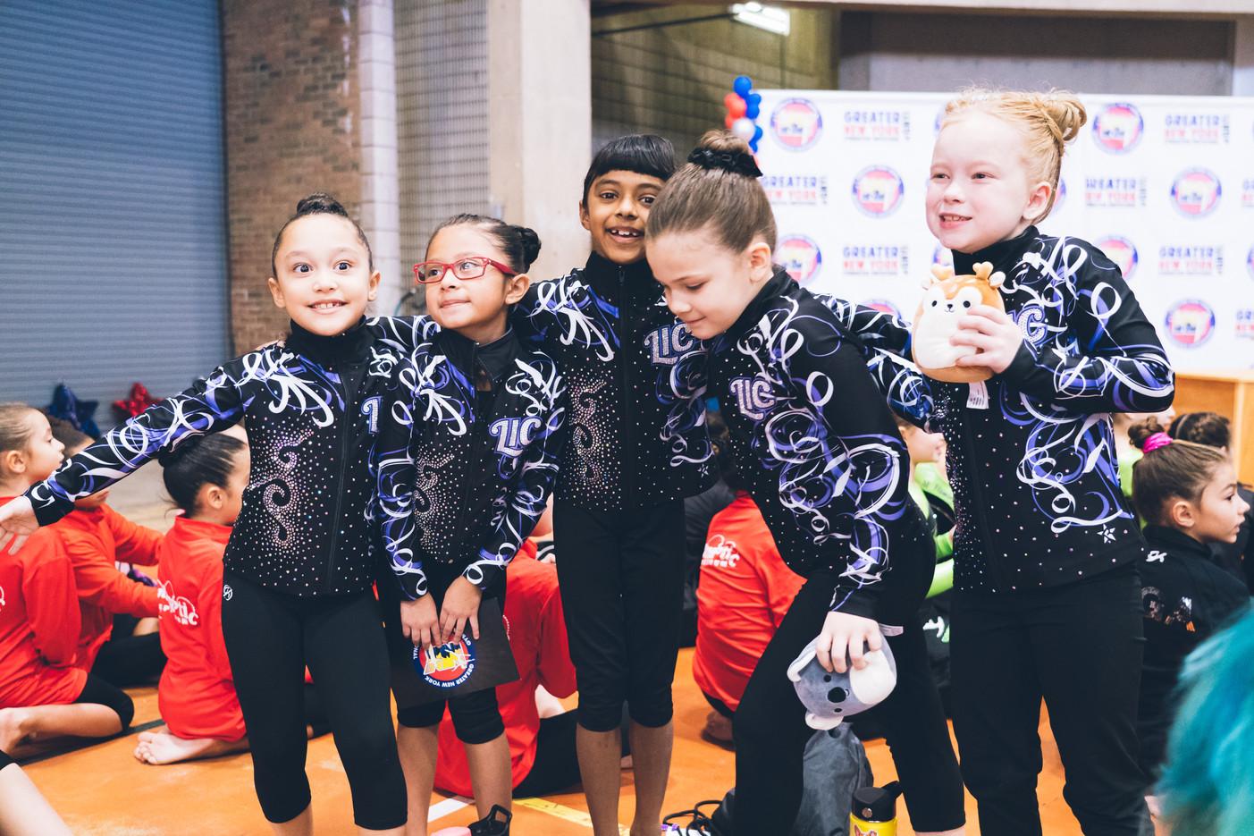 Industry Gymnastics Bronze Team