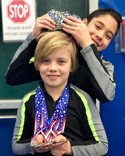 Industry Gymnastics Boys Teams