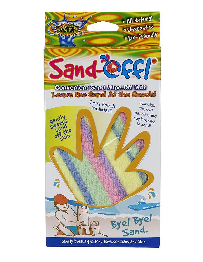 Keep the sand at the beach
