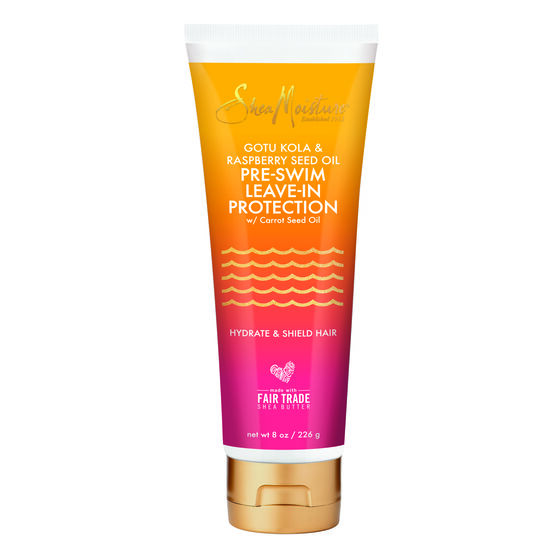 Pre-Swim hair protection