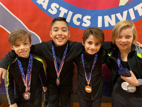 Industry Gymnastics Boys Team
