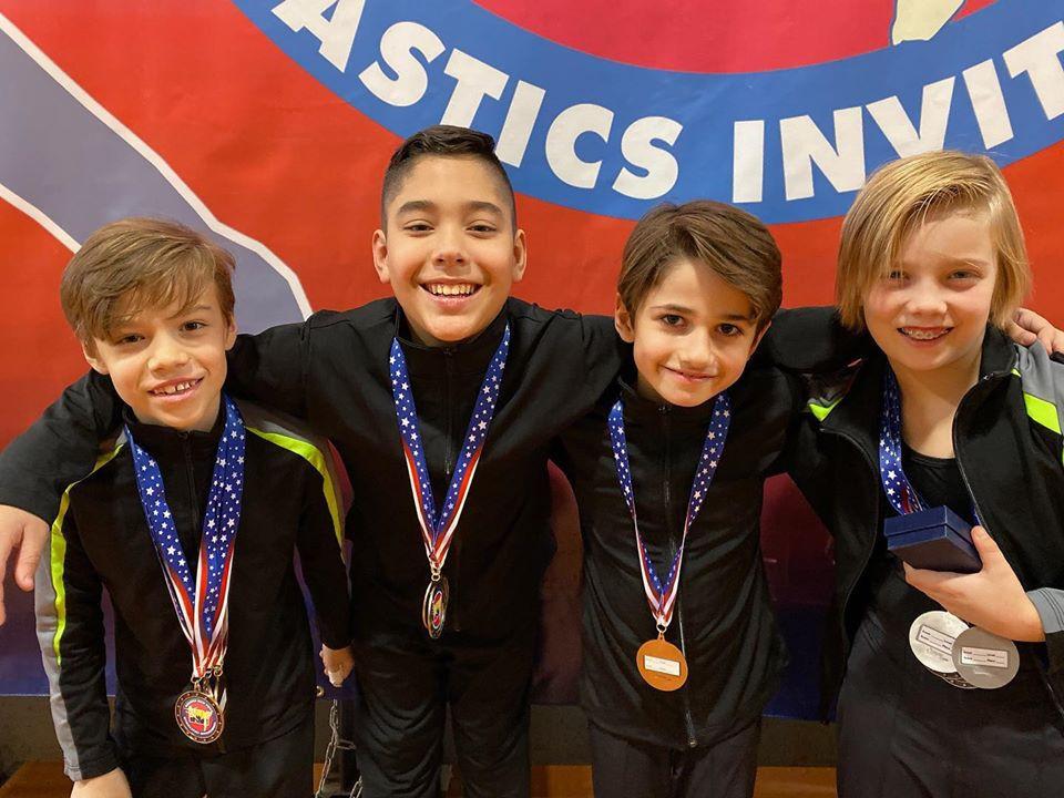 Industry Gymnastics Boys Team