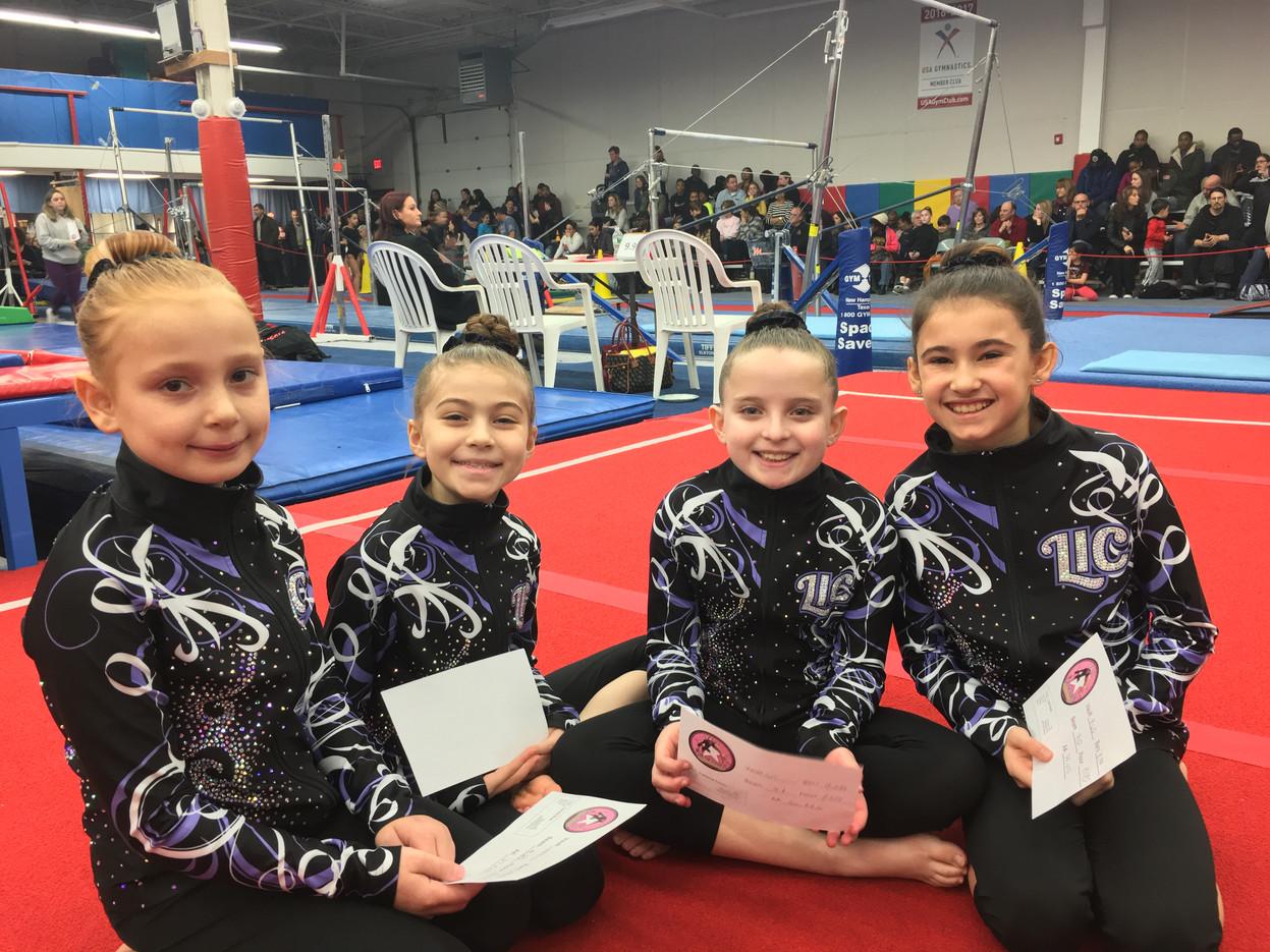 Industry Gymnastics Silvers