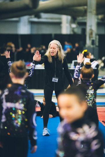 Industry Gymnastics Kelley High Five